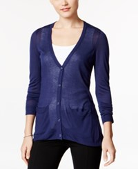 G.H. Bass And Co. Pocketed Cardigan Navy Water