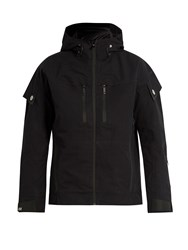 Mover Layered Zip Through Ski Jacket Black