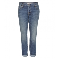 Burberry Relaxed Cropped Skinny Jeans Mid Indigo