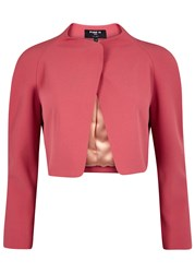Paule Ka Dark Pink Cropped Jacket