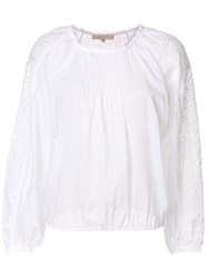 Vanessa Bruno Peasant Blouse White