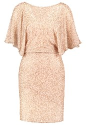 Miss Selfridge Angle Cocktail Dress Party Dress Metallic Gold