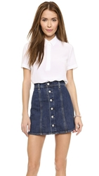 Ag Jeans Meadows Tunic Blouse True White