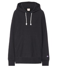 Champion Cotton Hoodie Black