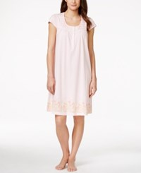 Charter Club Short Sleeve Printed Nightgown Only At Macy's