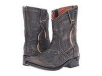Dan Post Whisper Grey Vintage Distressed Cowboy Boots Gray
