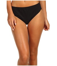 Speedo High Waist Bottom W Core Compression Black Women's Swimwear