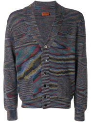 Missoni Patterned Knit Cardigan Multicolour