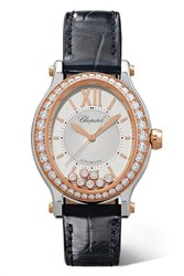 Chopard Happy Sport Oval 29Mm 18 Karat Rose Gold