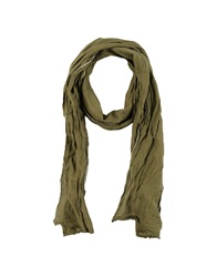 Selezione Basica Oblong Scarves Military Green