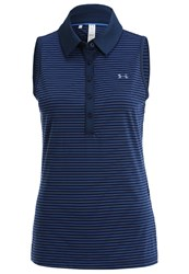 Under Armour Zinger Polo Shirt Academy Royal Dark Blue