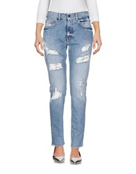 Up Jeans Denim Denim Trousers Blue