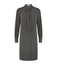 Reiss Hue Shirt Dress Female Green