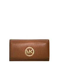 Michael Kors Fulton Leather Carryall Wallet Luggage