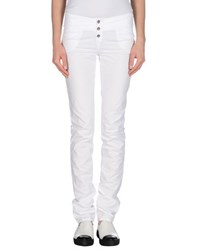 Calvin Klein Jeans Trousers Casual Trousers Women White