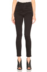 Unravel High Waisted Super Skinny In Black