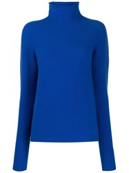Christian Wijnants Kerif High Neck Jumper Blue