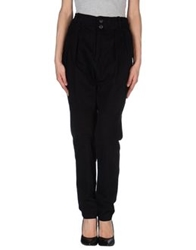 Silent Damir Doma Casual Pants Black
