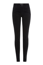 Zadig And Voltaire Corduroy Skinny Pants Black