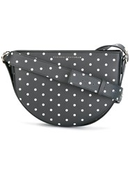 Victoria Beckham Polka Dot Shoulder Bag Black