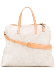 Officine Creative Arman Tote Women Calf Leather One Size White