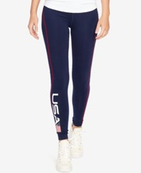 Polo Ralph Lauren Team Usa Stretch Leggings French Navy