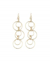 Lydell Nyc Multi Hoop Statement Drop Earrings