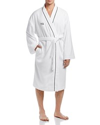 Hudson Park His Bath Robe White