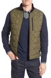 Victorinox Swiss Armyr Men's Army 'Quilted Matterhorn Ii' Water Repellent Vest Spartan Green Heather