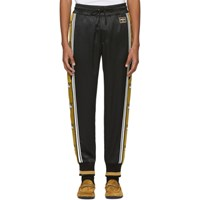 Dolce And Gabbana Black Gold Crowns Lounge Pants
