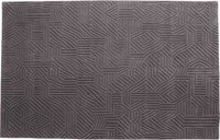 Nani Marquina African Pattern 2 Rug Small 5 Feet 7 Inches X 7 Feet 10 Inches Gray