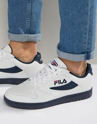 Fila Fx 100 Low Trainers White
