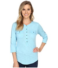Kuhl Khloe Skylight Women's Long Sleeve Pullover Blue