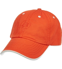 Vilebrequin Cotton Turtle Emblem Cap Red