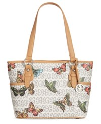 Giani Bernini Butterfly Print Tote Only At Macy's