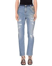 Pinko Tag Denim Denim Trousers Women