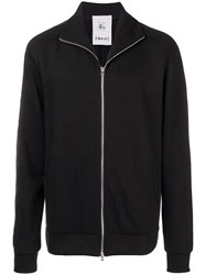 Lost And Found Ria Dunn High Neck Zipped Sweatshirt Black