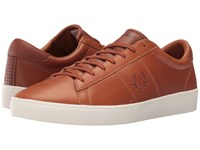 Fred Perry Spencer Waxed Leather Tan Men's Lace Up Casual Shoes