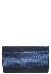 Abro Clutch Blue Gold Dark Blue