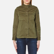 Barbour International Women's Tachometer Casual Jacket Khaki Green