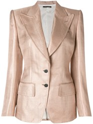 Tom Ford Classic Blazer Nude And Neutrals