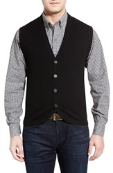 Men's Cutter And Buck 'Bosque' Wool And Cashmere Sweater Vest