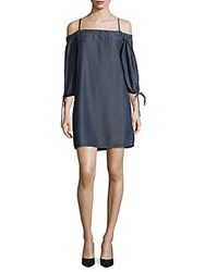 Saks Fifth Avenue Red Lalaine Denim Dress Indigo