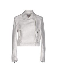 Philosophy Di Alberta Ferretti Coats And Jackets Jackets Women White