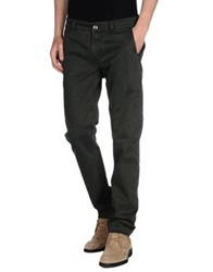 Re Hash Casual Pants Military Green