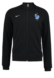 Nike Performance Frankreich Tracksuit Top Black Metallic Silver