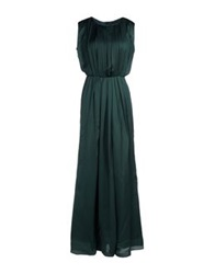 Bgn Long Dresses Dark Green