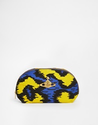 Vivienne Westwood Leopard Make Up Bag