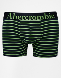 Abercrombie And Fitch Trunks In Stripe Navy