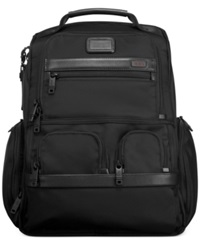 Tumi Alpha Compact Laptop Brief Backpack Black